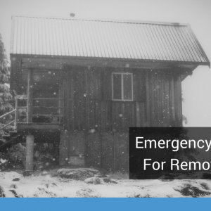 Emergency Preparedness for Remote Winter Work