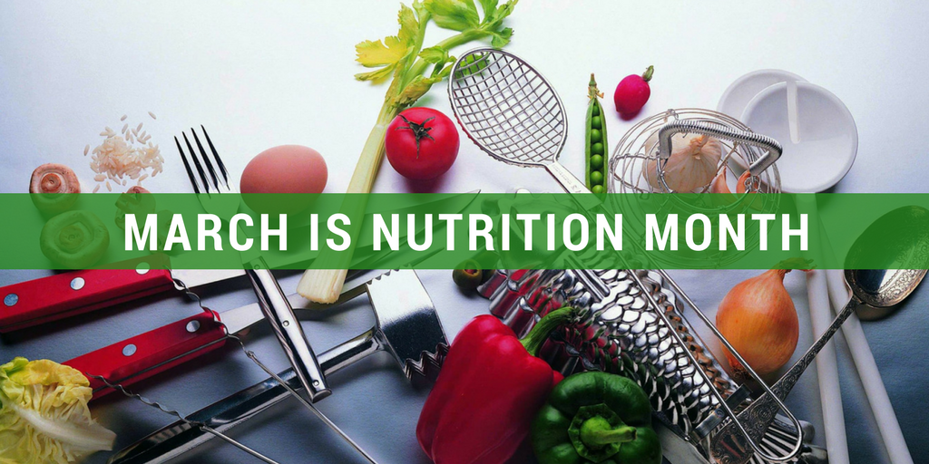 March – Nutrition Month
