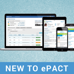 New in ePACT