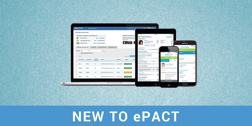 New in ePACT – May 2018