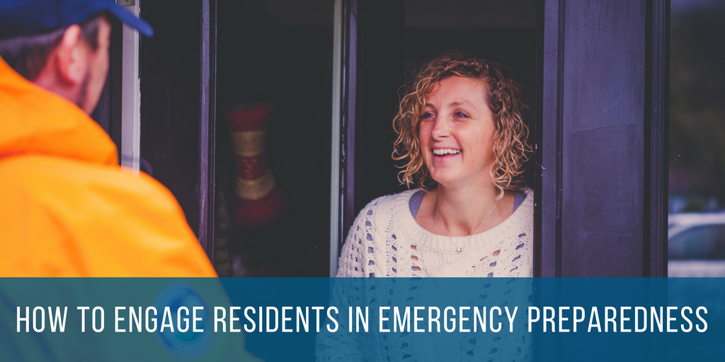 How to Engage Residents in Emergency Preparedness