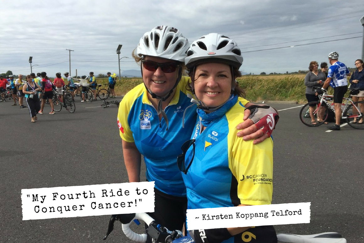 My Fourth Ride to Conquer Cancer