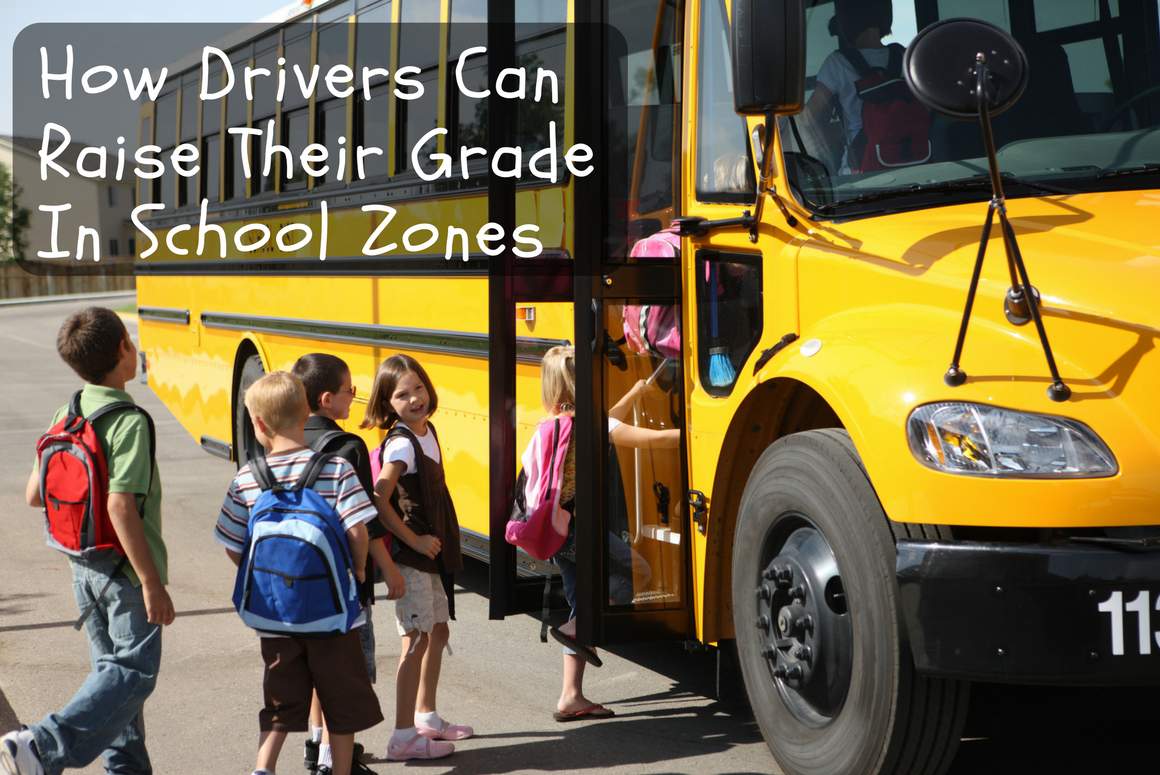 How Drivers Can Raise Their Grade in School Zones