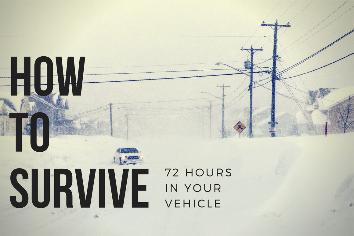 How to Survive 72 Hours In Your Vehicle