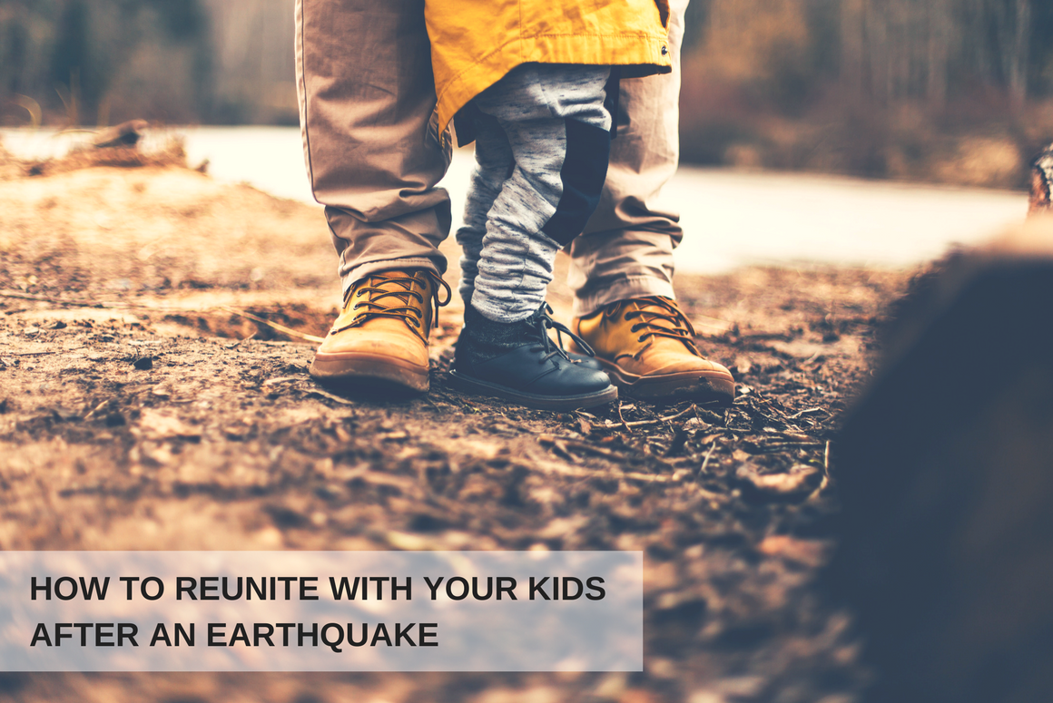 How To Reunite With Your Kids After An Earthquake