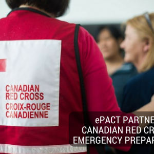ePACT Partners with Canadian Red Cross for Emergency Preparedness