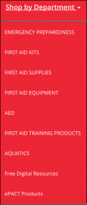 Canadian Red Cross ePACT Products