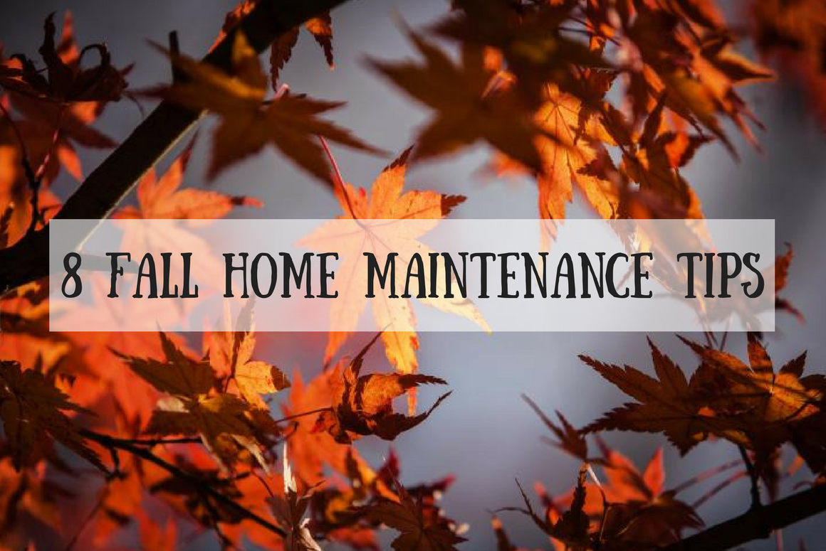 8 Fall Home Maintenance Tips