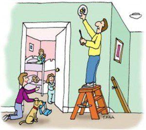 carbon monoxide detector install