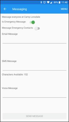 ePACT Admin App Member Messaging