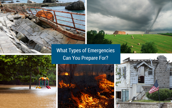 What Types of Emergencies Can You Prepare For?