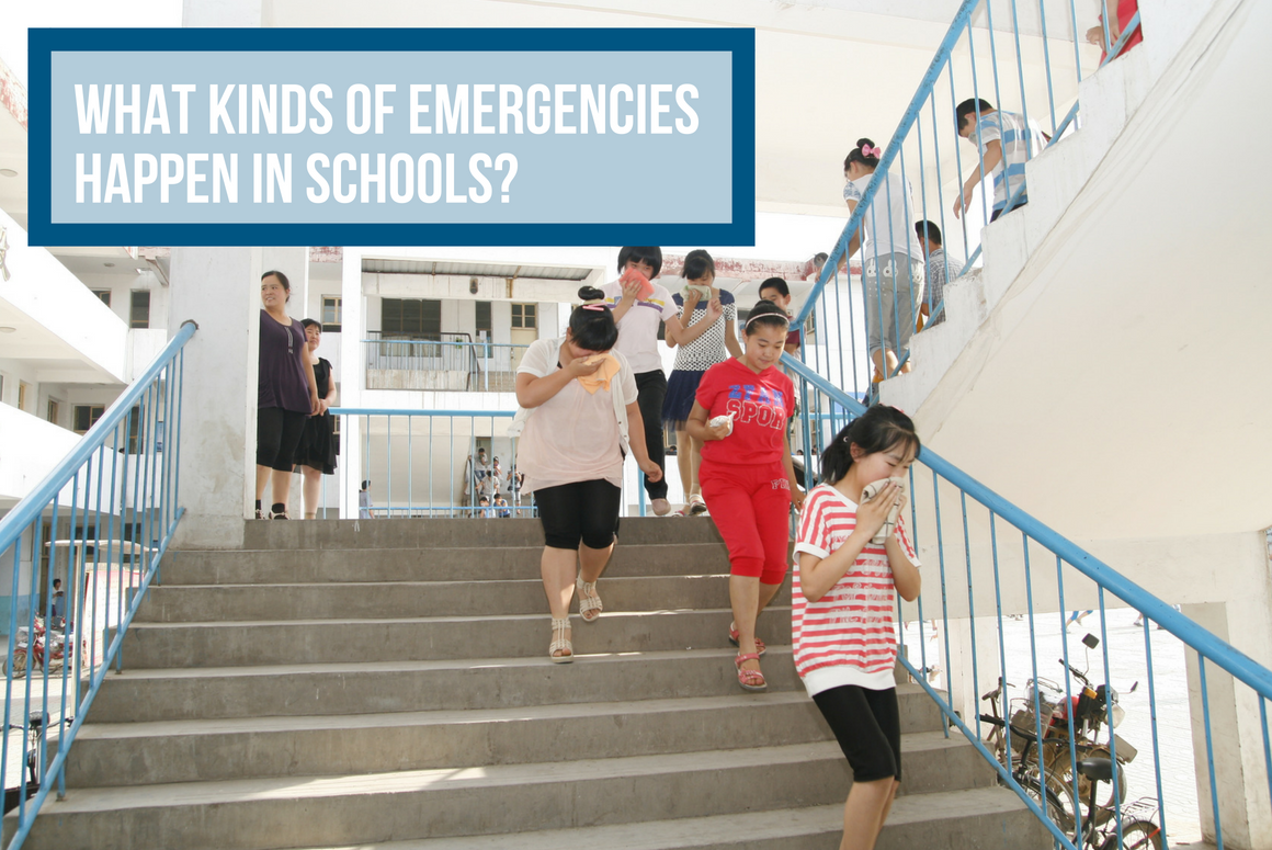 What Kinds of Emergencies Happen In Schools?