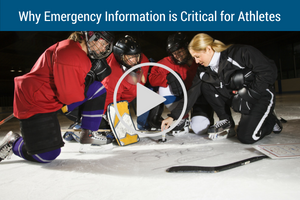 Why Emergency Information Critical For Athletes