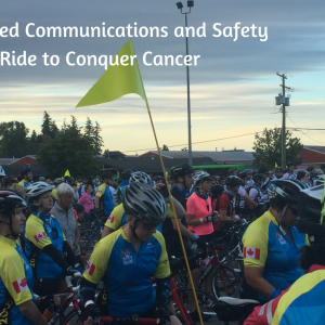 Enhanced Communications and Safety for the Ride to Conquer Cancer