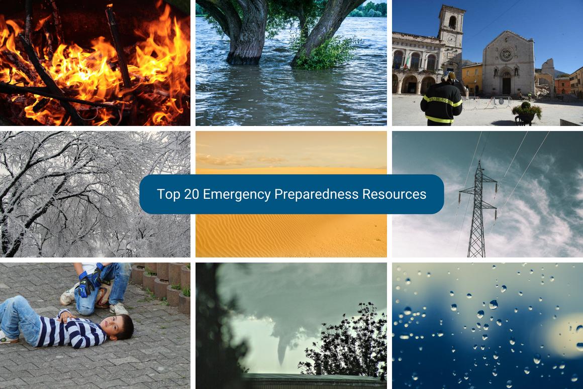 Top 20 Emergency Preparedness Resources