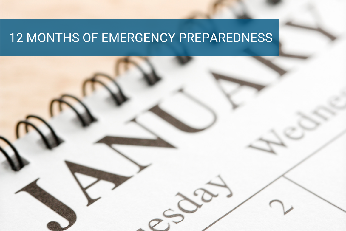 12 Months of Emergency Preparedness