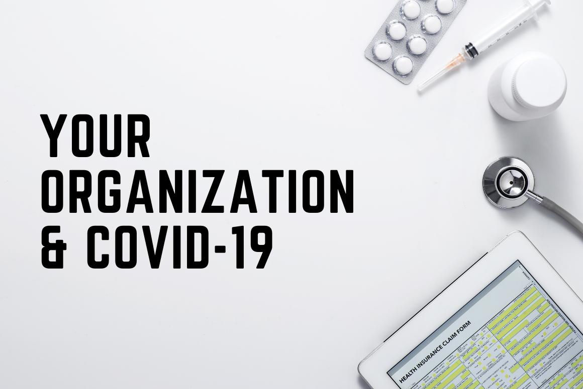 Your Organization & Coronavirus (COVID-19)