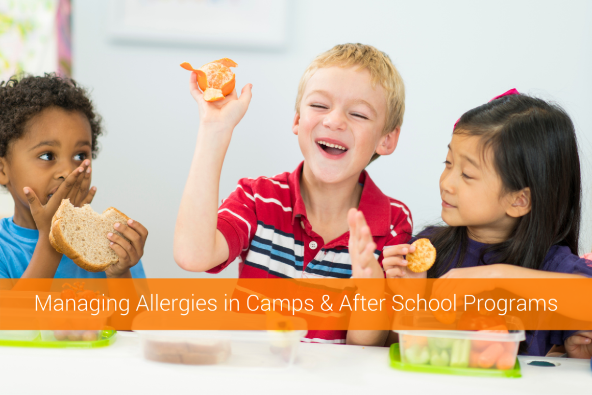 Managing Allergies in Camps and After School Programs